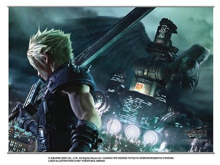 FINAL FANTASY VII REMAKE WALL SCROLL VOL 1 (Net) (C: 1-0-1)