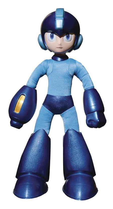 MEGAMAN 15IN POSEABLE SOFT STATUE (C: 1-0-2)