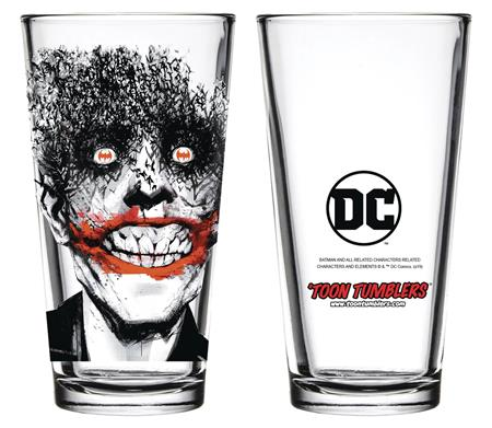 TOON TUMBLERS DC JOKER BATS GLASS (C: 1-1-2)