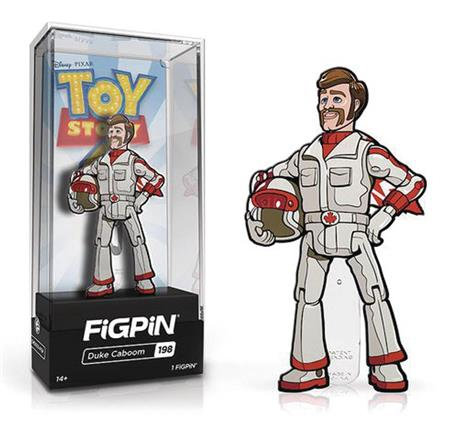 FIGPIN TOY STORY 4 DUKE CABOOM PIN (C: 1-1-2)