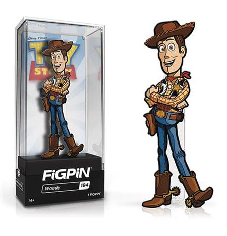 FIGPIN TOY STORY 4 WOODY PIN (C: 1-1-2)