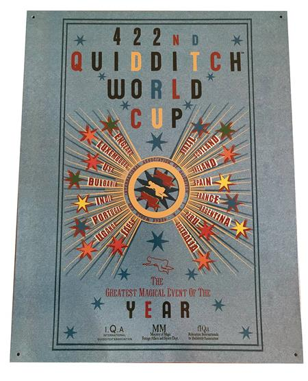 HARRY POTTER QUIDDITCH CUP 12X16 TIN SIGN (C: 1-1-2)