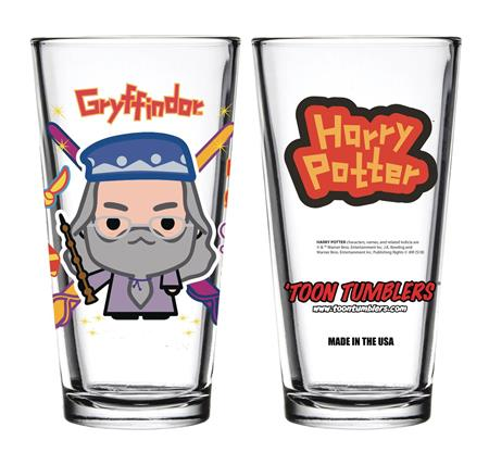 TOON TUMBLERS HARRY POTTER CHARM DUMBLEDORE GLASS (C: 1-1-2)