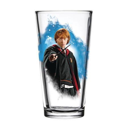 TOON TUMBLERS HARRY POTTER MOVIE RON WEASLEY PINT GLASS (C: