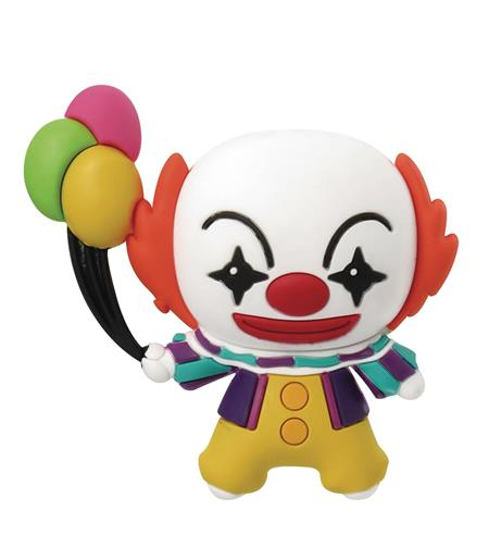 HORROR PENNYWISE 3D SOFT TOUCH PVC MAGNET (C: 1-1-2)