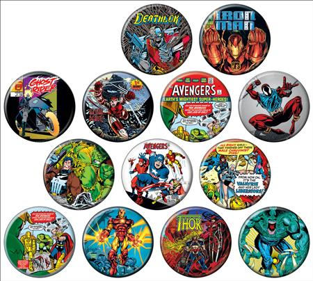 MARVEL 80TH COVERS 144PC BUTTON DIS (C: 1-1-2)