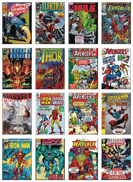 MARVEL 80TH COVERS 48PC MAGNET ASST (C: 1-1-2)