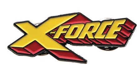MARVEL HEROES X FORCE LOGO PIN (C: 1-1-2)