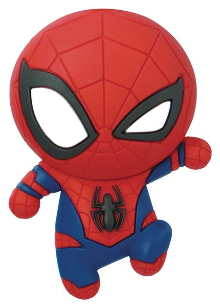 MARVEL SPIDER-MAN 3D FOAM MAGNET (C: 1-1-2)