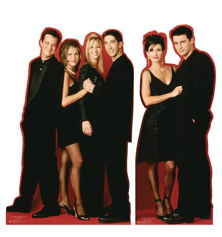 FRIENDS LIFE SIZE STAND-UP 2 SET (Net) (C: 1-1-2)