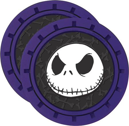 NIGHTMARE BEFORE CHRISTMAS JACK CAR COASTER SET (C: 1-1-2)
