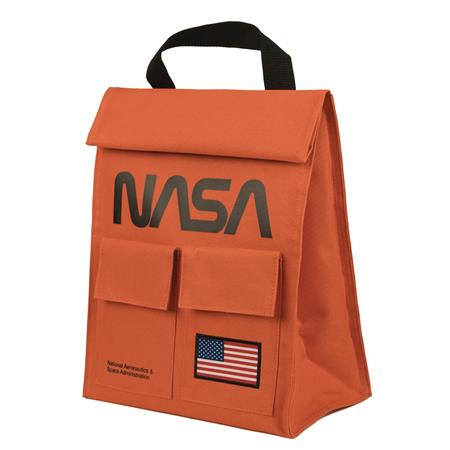 NASA ROLL TOP INSULATED LUNCH BAG (C: 1-1-2)