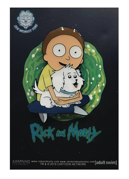 RICK AND MORTY MORTY & SNOWBALL PIN (C: 1-1-2)
