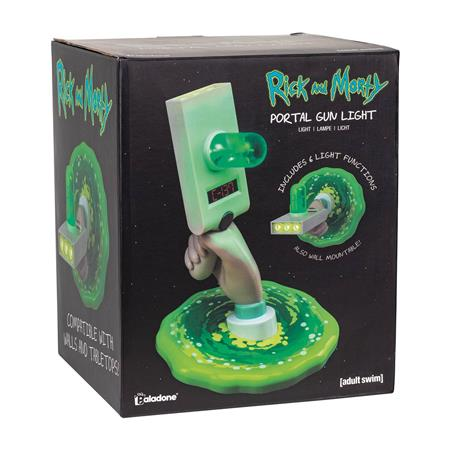 RICK AND MORTY PORTAL GUN TABLETOP LIGHT (C: 1-1-2)