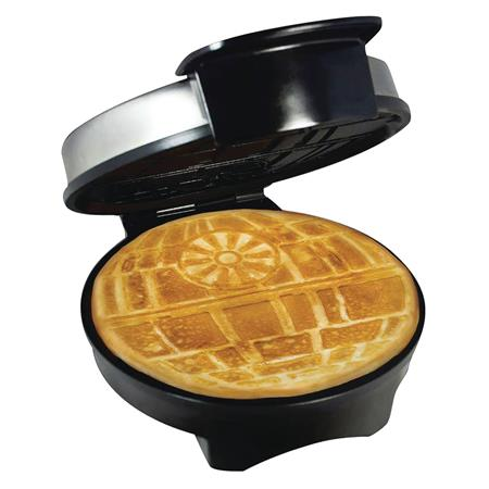 STAR WARS DEATH STAR WAFFLE MAKER (C: 1-1-2)