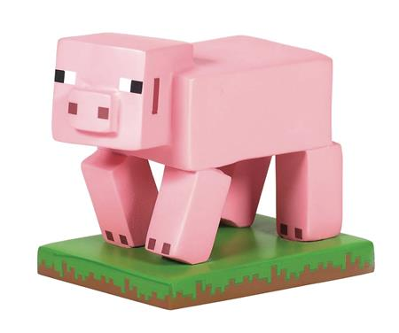D56 MINECRAFT 1.75IN PIG FIGURE (C: 1-1-2)