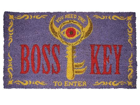 LEGEND OF ZELDA BOSS KEY DOORMAT (C: 1-1-2)