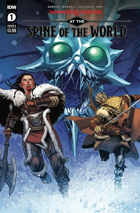 DUNGEONS & DRAGONS AT SPINE OF WORLD #1 (OF 4) CVR A COCCOLO