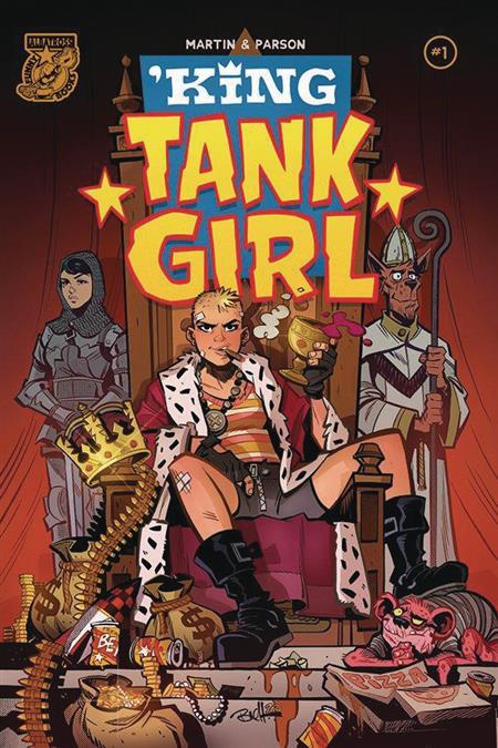 KING TANK GIRL #1 (OF 5) CVR A PARSON