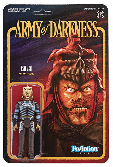 ARMY OF DARKNESS EVIL ASH REACTION FIGURE (Net) (C: 0-1-2)