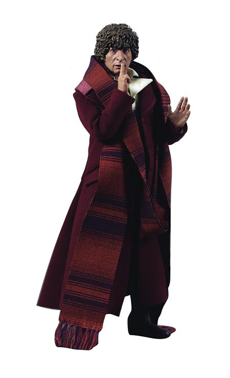 DOCTOR WHO DEFINITIVE SER 18 4TH DOCTOR 1/6 FIG (Net) (C: 1-