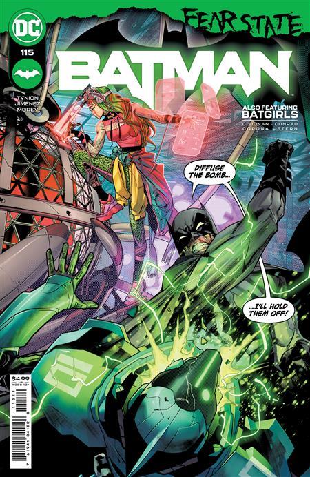BATMAN #115 CVR A JORGE JIMENEZ (FEAR STATE)