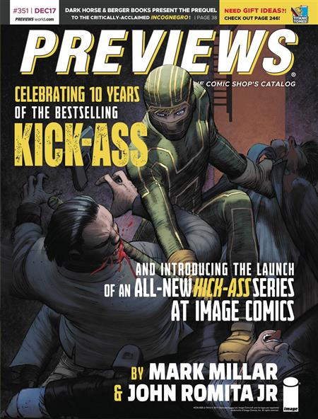 PREVIEWS #353 FEBRUARY 2018 (Net) * Includes a FREE Image Plus.