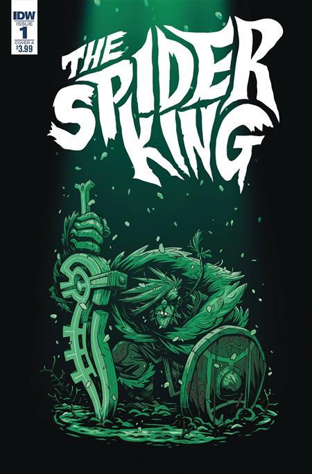 SPIDER KING #1 CVR A DARMINI