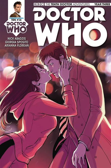 DOCTOR WHO 10TH YEAR THREE #14 CVR A ZANFARDINO