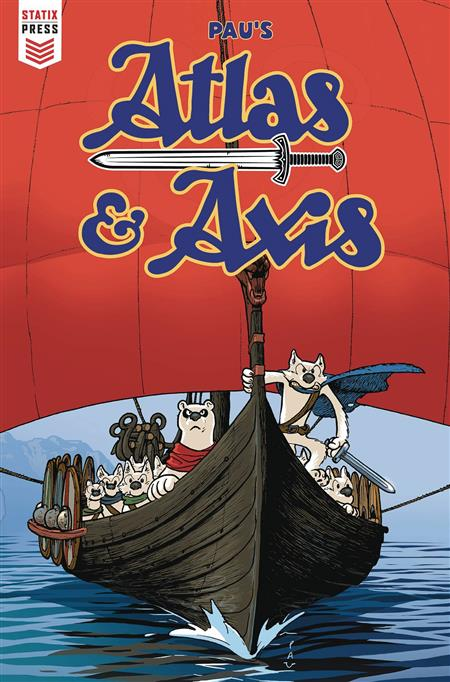 ATLAS AND AXIS #2 (OF 4) (MR)