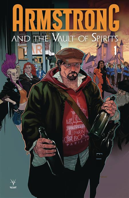 ARMSTRONG & THE VAULT OF SPIRITS #1 CVR A ANDRASOFSZKY (ONE