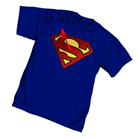 WATCHMEN SUPERMAN SYMBOL T/S LG (C: 1-1-2)