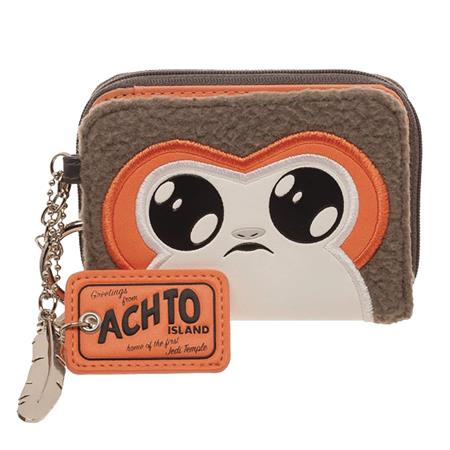 STAR WARS E8 PORG MINI ZIP BI-FOLD WALLET (C: 1-0-2)