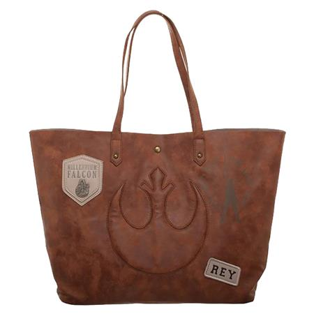 STAR WARS E8 THE LAST JEDI REY TOTE BAG (C: 1-1-2)