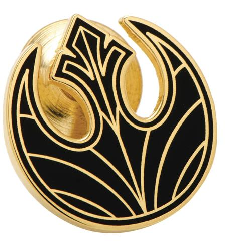 STAR WARS E8 GOLD REBEL SYMBOL LAPEL PIN (Net) (C: 1-0-2)