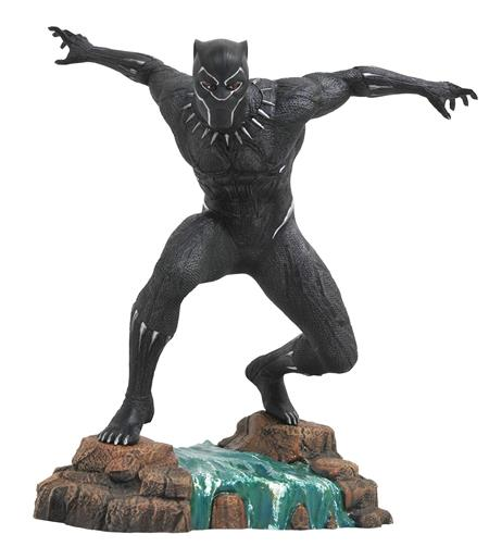 MARVEL GALLERY BLACK PANTHER MOVIE PVC STATUE (C: 1-1-2)