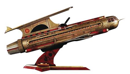 CHRONICLE FLASH GORDON WAR ROCKET AJAX STATUE (Net) (C: 1-1-