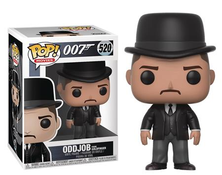 POP JAMES BOND ODDJOB VINYL FIGURE (C: 1-1-1)