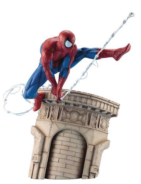 MARVEL UNIVERSE SPIDER-MAN WEBSLINGER ARTFX STATUE (C: 1-1-2