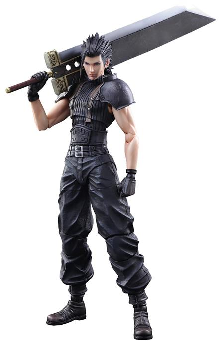 CRISIS CORE FINAL FANTASY VII ZACK FAIR PLAY ARTS KAI AF (C: