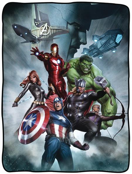 MARVEL AVENGERS CHARACTER FLEECE BLANKET (C: 1-1-2)