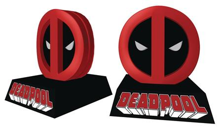 MARVEL DEADPOOL LOGO COIN BANK (C: 1-1-2)