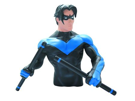DC HEROES NIGHTWING BUST BANK (C: 1-1-2)
