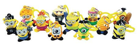 DREAMWORKS DESPICABLE ME 3 FIGURE HANGER 24PC BMB DS (C: 1-1