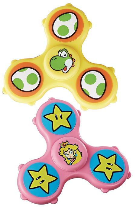 FIDGET ITS SUPER MARIO GRAPHIC SPINNERS DIS (Net) (C: 1-1-2)