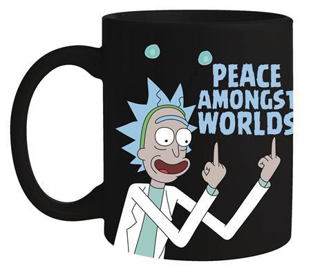 RICK AND MORTY PEACE AMONG WORLDS MUG (C: 1-1-2)