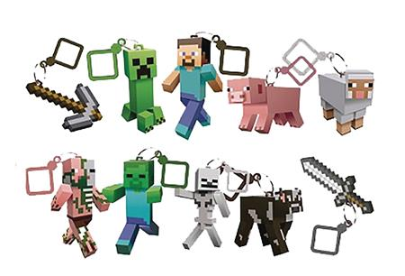 MINECRAFT ACTION FIGURE HANGER 24PC BMB DS SERIES 1 (C: 1-1-