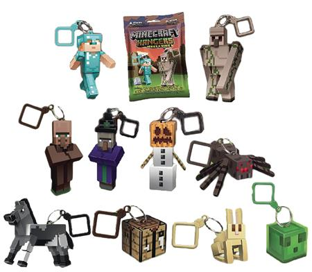 MINECRAFT ACTION FIGURE HANGER 24PC BMB DS SERIES 3 (C: 1-1-