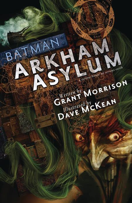 ABSOLUTE BATMAN ARKHAM ASYLUM HC 30TH ANNIV ED