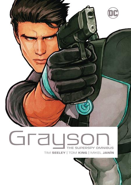 GRAYSON THE SUPERSPY OMNIBUS HC NEW ED